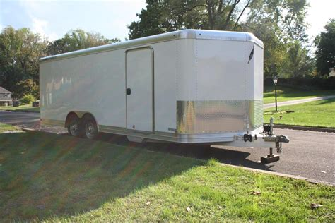 in trailer 22 quot featherlite enclosed trailer for sale rennlist