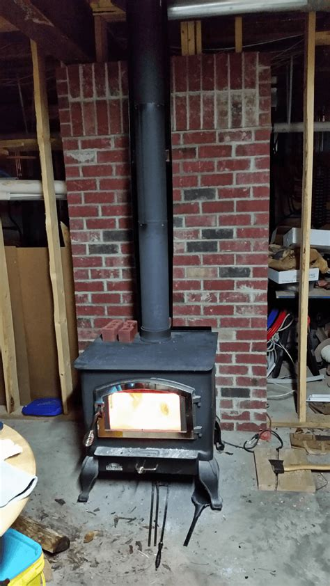 can you put a wood stove in a fireplace where should a wood stove chimney go save our skills