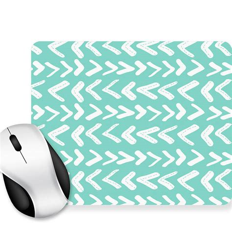 Personalised Mouse Mats by Personalised Geometric Mouse Mat Rectangle By We To
