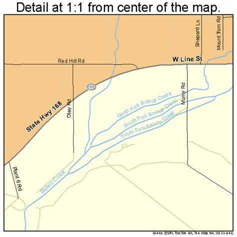 california map bishop west bishop california map 0684120