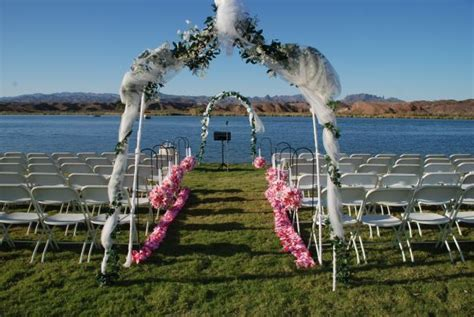 my outdoor ceremony aisle decor : wedding beach ceremony