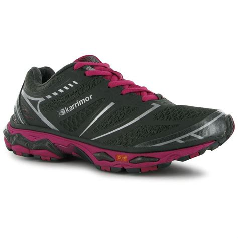 karrimor womens d30 lace up running sports shoes
