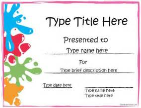 Kid Certificate Templates Free Printable by 25 Best Ideas About Free Certificate Templates On