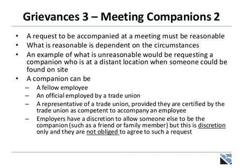 Invitation Letter For Grievance Meeting Disciplinaries Grievances And Settlement Discussions