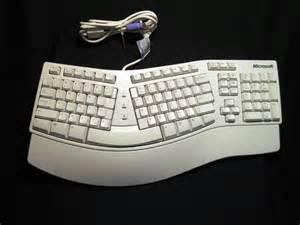 Natural ergonomics microsoft elite keyboard ivory ergonomic