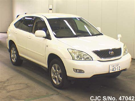 toyota harrier 2005 2005 toyota harrier pearl for sale stock no 47042