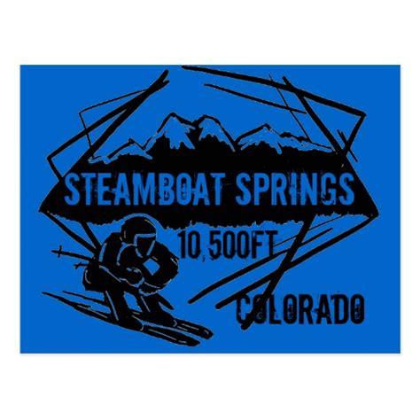 steamboat elevation steamboat springs colorado ski elevation postcard zazzle
