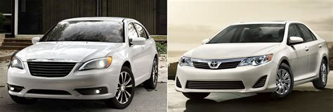 Chrysler 200 Vs Chrysler 200 Or Toyota Camry Fiat S World