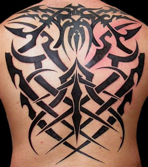 tattoo back tribal full back tribal tattoos for men