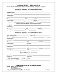 new hire form template 6 new hire application form templateagenda template sle