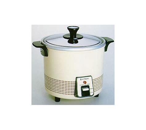 Rice Cooker Hitachi hitachi 5 6 cup food steamer rice cooker white qvc