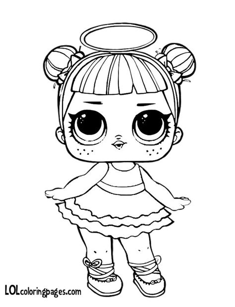 Coloring Page Lol Dolls by My Snuggle Jpg 900 215 1 200 Pixels Lol