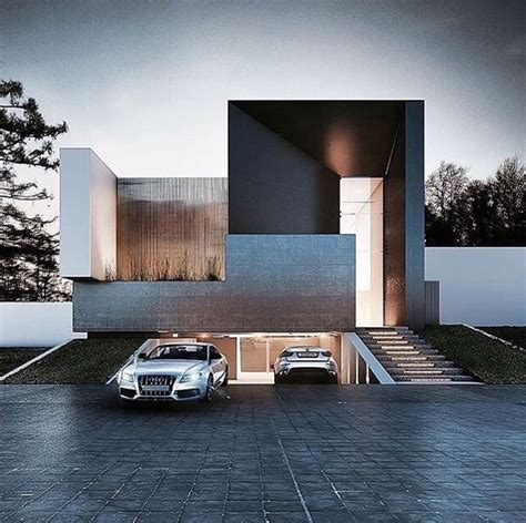 Ultra Modern Houses by Ultra Modern Home Exteria Wood Accents Underground