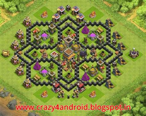 best defense town hall level 8 2016 town hall level 8 best bases and war bases 2016 on hax
