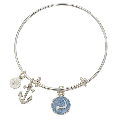 cape cod bangle cape cod anchor bangle bracelet samandnan