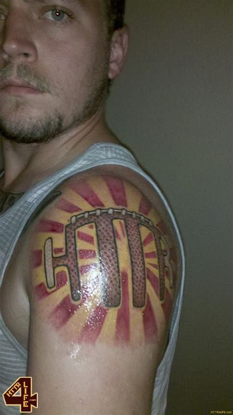 redskins tattoo redskins nation the collection