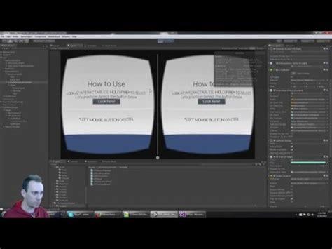 tutorial unity cardboard tutorial unity vr sles to google cardboard sdk youtube