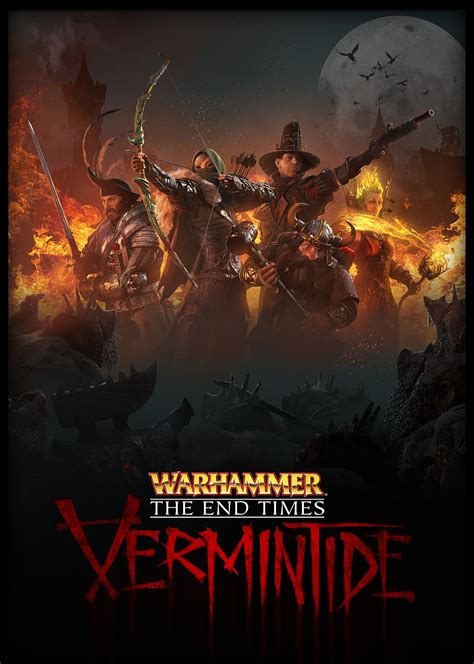 Kaset Ps 4 Warhammer The End Time Vermintide warhammer end times vermintide due for ps4 xb1 this october