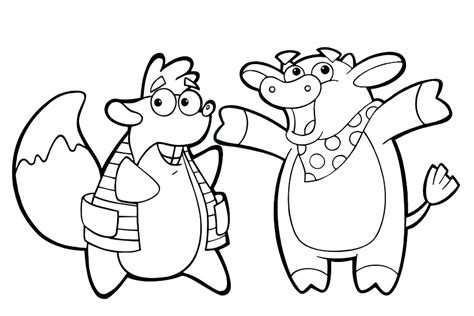 dora the explorer coloring pages nick jr free coloring pages of dora nick jr