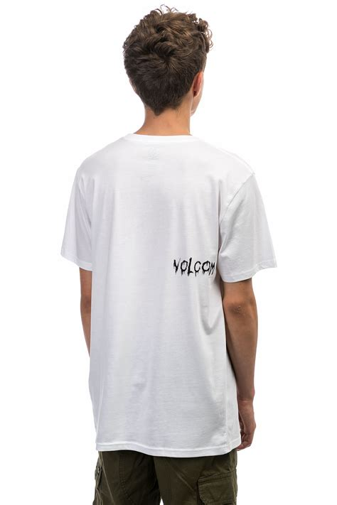 Shirt Volcom Original volcom sludgestone t shirt white buy at skatedeluxe