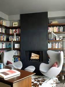 mid century modern bookcase for small library at home home library a cozy escape home decorating