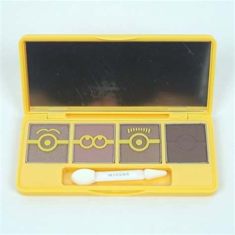 Missha Minion Mini Color Eye Studio missha minions edition eye color studio mini review