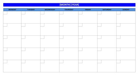 activity calendar template excel blank weekly calendars printable activity shelter