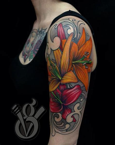 colorful tattoos for females jon glahn artist the vandallist
