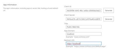 expose  public web  sharepoint  information