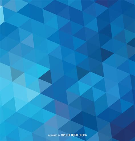 T Sale Bg Blue abstract polygonal blue background vector