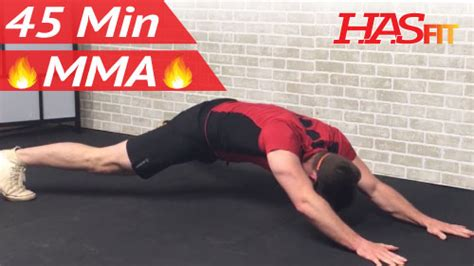 min mma workout routine hiit conditioning abs