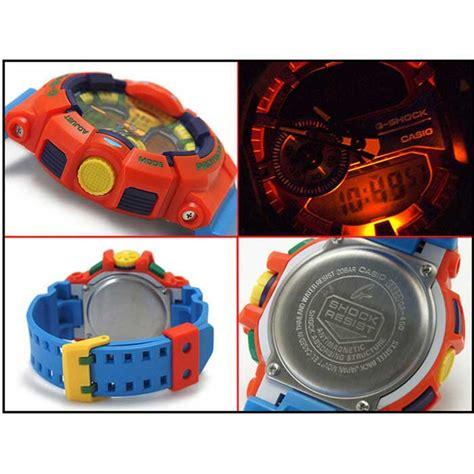 G Shock Ga 400 Orange Blue casio g shock ga 400 4aer orange blue band free shipping dealextreme