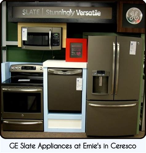 color kitchen appliances ernie s in ceresco slate the new quot it quot color for appliances