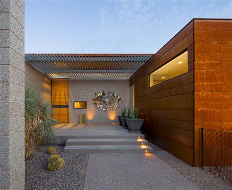 enchanting modern entrance designs that boost the appeal