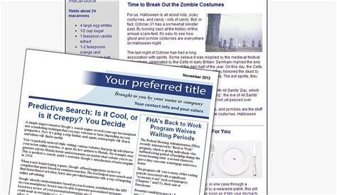 Mortgage Newsletter Ready Mortgage Newsletters