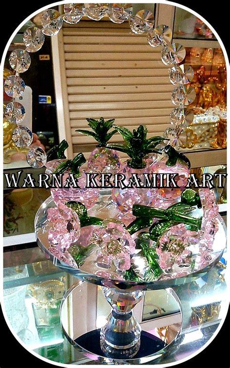 Cermin Motif Batu Import China jual buah cermin pink tinggi harga murah jakarta oleh warna keramik