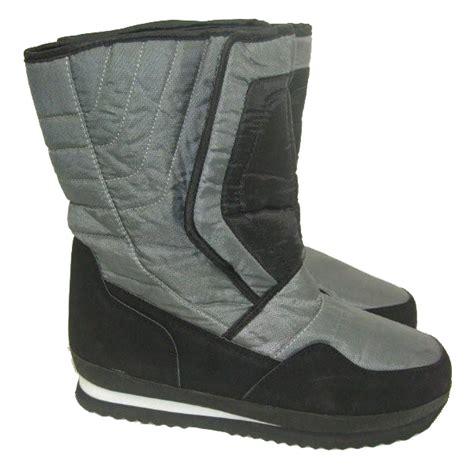 mens winter boots wide boots mens waterproof soles winter snow moon apres