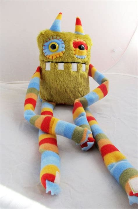 Handmade Monsters - 25 best ideas about dolls on