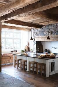 Rustic Kitchen Simple Everyday Glamour Rustic Kitchen