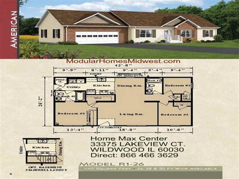 modular house plans ranch modular home floor plans country ranch homes unique
