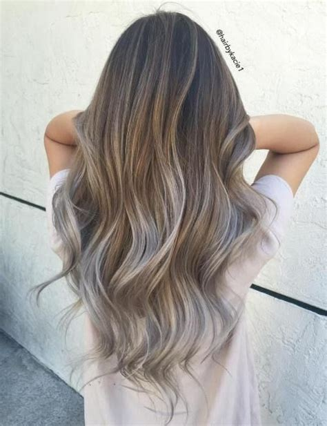 options for brunette greying hair best 25 grey brown hair ideas on pinterest ash brown