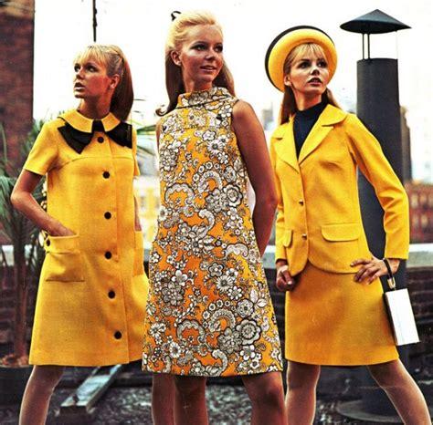 swinging sixties fashion style mode der 60er diese kleidung war damals trend