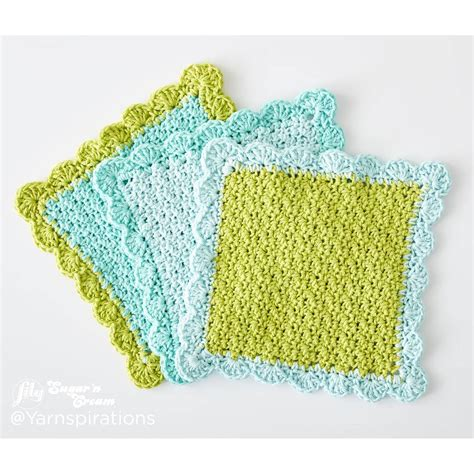 1000 images about pattern patter knitting crochet free pattern lily sugar n cream scalloped dishcloth