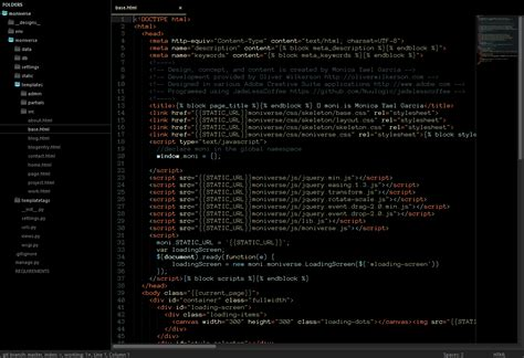 sublime text 3 theme manager github oliverseal tech49 theme sublime text theme based