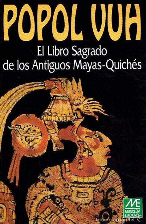 libro popol vuh popol vuh el libro sagrado de los antiguos may comprar libros de religi 243 n en todocoleccion