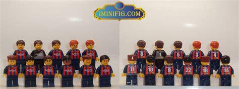 Lego Team custom lego barcelona football team players name on the back 11 minifig 1d1b ebay