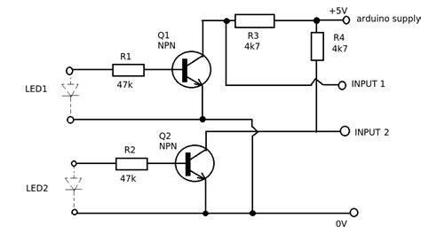 state three uses of resistor devices microcontroller how can i electronically sense the state of an led in another device with an