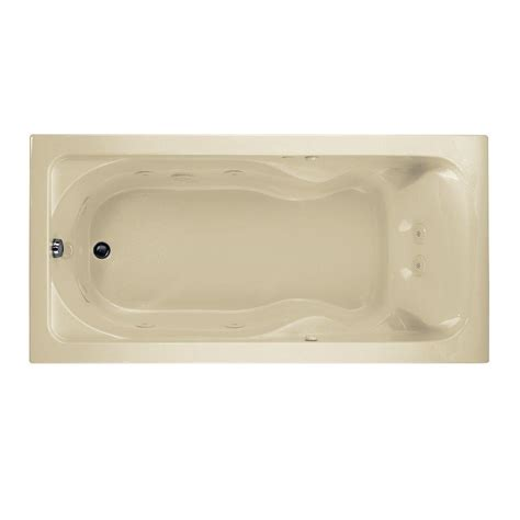 american standard whirlpool bathtubs american standard cadet 6 ft x 36 in reversible drain