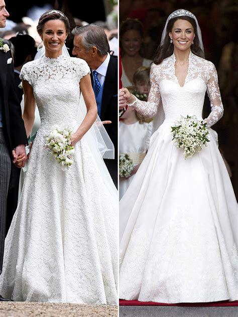 Wedding Dress Kate Middleton by Pippa Kate Middleton S Wedding Dresses Whose Stunning