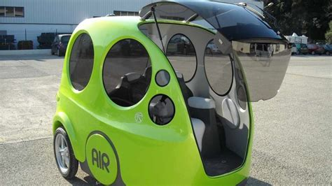 Minicat Air Car Runs On Compressed Air by Energy From The Air Tata Pressure